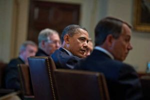 Republicans to Have Dinner with Obama within Budget-Day Criticism