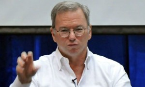 Google's Schmidt Realizes Future to be disorganized
