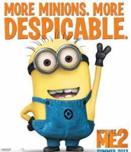 Despicable Me 2 Earnings at the US Box-Office
