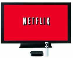 Netflix stock down still making history