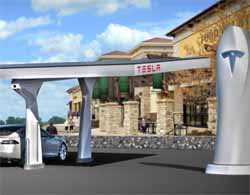 Tesla makes plans for expansion of superchargers