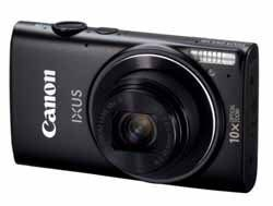 Two New Canon IXUS Cameras Facilitate Online Photo Sharing