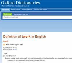 Oxford Dictionary Online Adds New Words Like Selfie Twerk