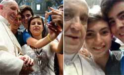 Pope Francis' 'Selfie' Photo Attracts Attention