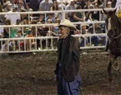 Rodeo clown gets lifetime ban for mocking Obama