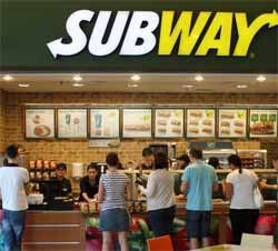 Subway has the most Restaurants