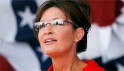 Sarah Palin calls for restraint in Syria