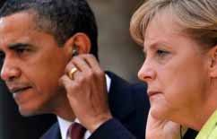 Obama denies knowing NSA spied on Merkel