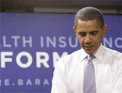 Cracks in Obamacare support