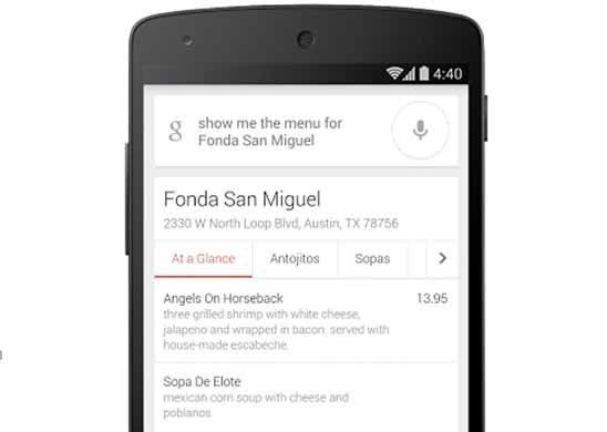 Google Inc GOOG To Show Restaurant Prices