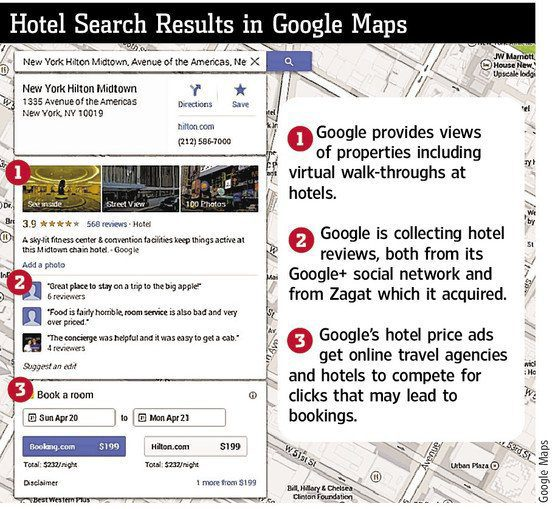 Google Inc GOOG Enters Hotel-Booking Business