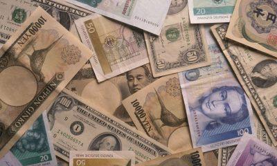 Yen Dollars Marks