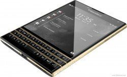 Blackberry unveils gold plated Passport edition, but its already sold out!