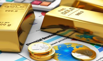 pure gold bars and coins