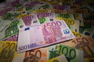 european euro banknotes