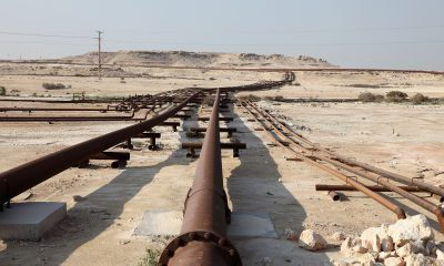 OIl - Gas pipeline middle east