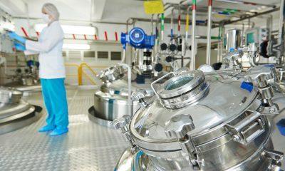 Pharma mixing tank