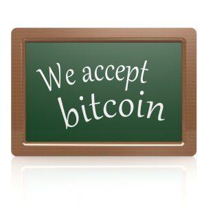 we accept bitcoin blackboard