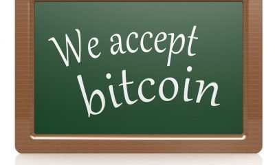 we accept bitcoin blackboard
