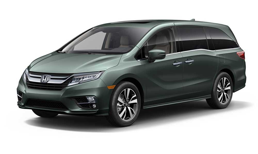 Honda Odyssey minivan introduced at NAIAS in Detroit