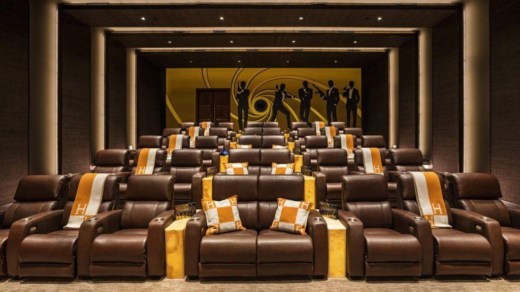 4K movie theater.