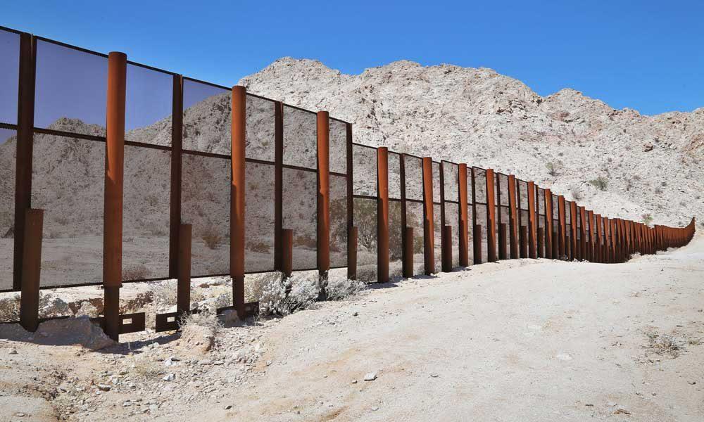 u s mexico border fence