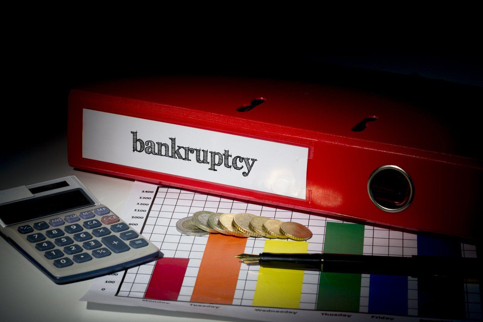 bankruptcy red business binder