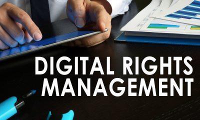 digital rights management concept