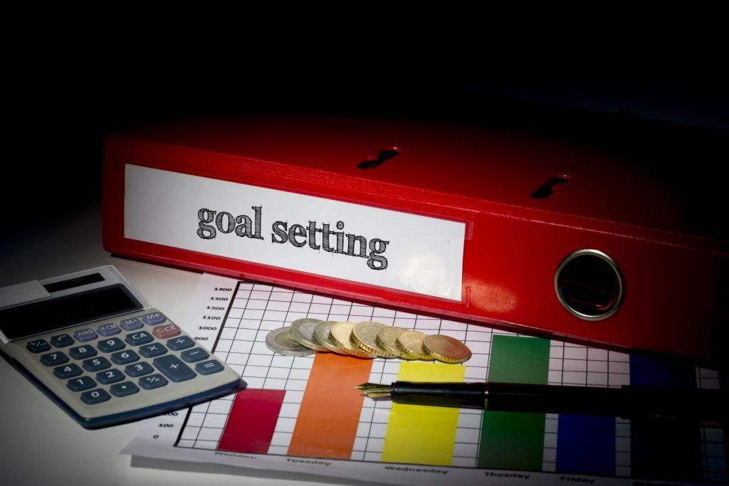 Goal setting binder