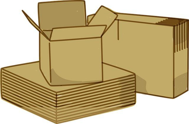 Moving Expenses - boxes